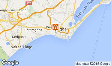 Karte Agde Mobil-Home 11169