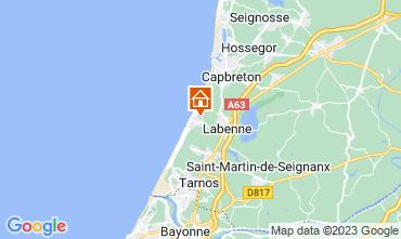 Karte Labenne Océan Mobil-Home 72176