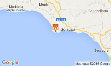 Karte Sciacca Appartement 100665