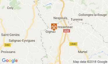Karte Rocamadour Haus 115550