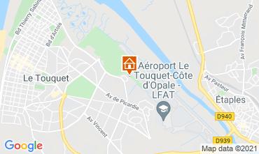 Karte Le Touquet Haus 7747