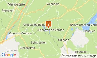 Karte Esparron-de-Verdon Villa 108016