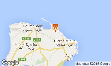 Karte Djerba Villa 78118