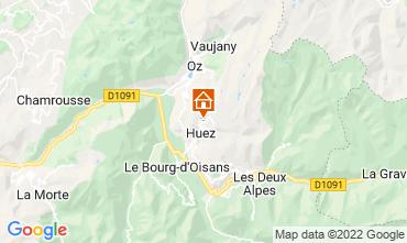 Karte Alpe d'Huez Appartement 82325