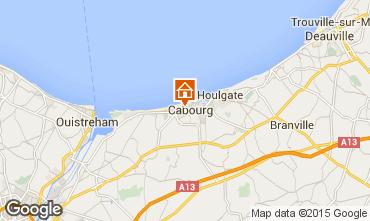 Karte Cabourg Haus 10768