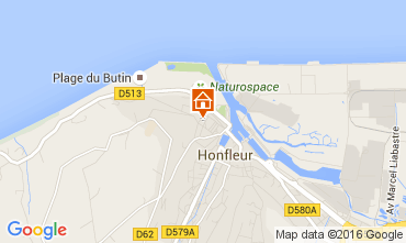 Karte Honfleur Appartement 103796