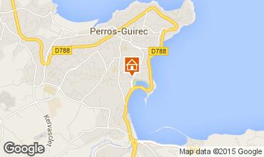 Karte Perros-Guirec Studio 80836