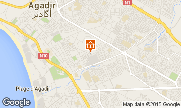 Karte Agadir Appartement 30413