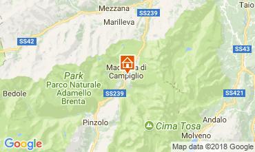 Karte Madonna di Campiglio Appartement 115291