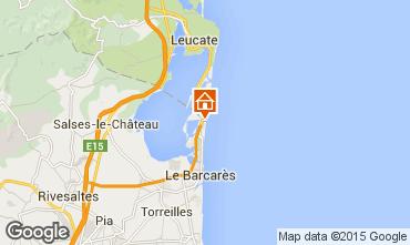 Karte Le Barcares Studio 6336