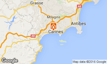 Karte Cannes Appartement 100323