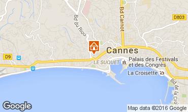 Karte Cannes Appartement 100323