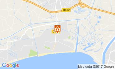 Karte Vias Plage Mobil-Home 110597