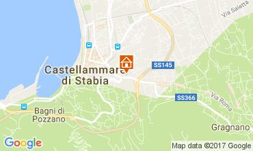 Karte Castellammare di Stabia Fremdenzimmer 108638