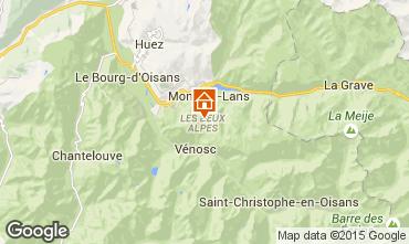 Karte Les 2 Alpes Appartement 49434