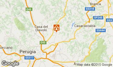 Karte Perugia Appartement 73510