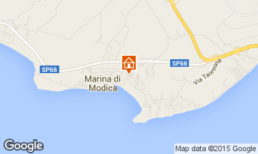Karte Marina di Modica Bungalow 64041