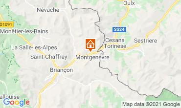 Karte Montgenevre Studio 89553