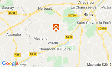 Karte Blois Mobil-Home 117416