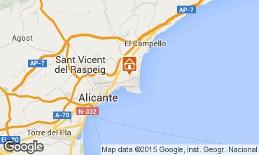 Karte Alicante Villa 51058