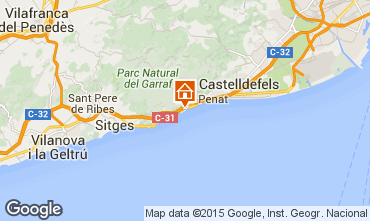 Karte Barcelona Villa 95047