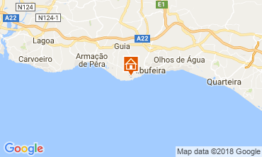 Karte Albufeira Studio 115054