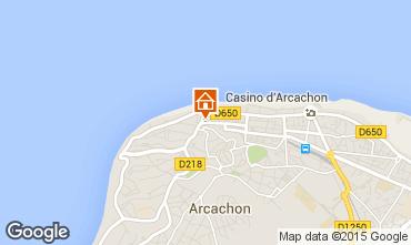 Karte Arcachon Appartement 61328