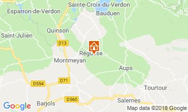 Karte Régusse Villa 116818
