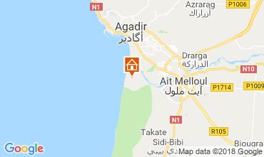 Karte Agadir Außergewöhnliche Unterkunft 117445