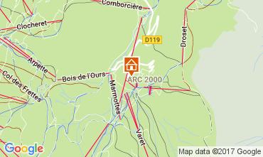 Karte Les Arcs Appartement 80738