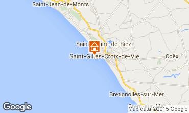 Karte Saint Hilaire de Riez Studio 22393