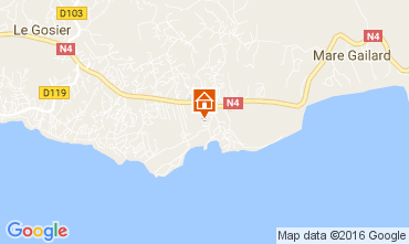 Karte Gosier (Guadeloupe) Studio 106679