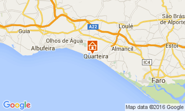 Karte Vilamoura Studio 97835