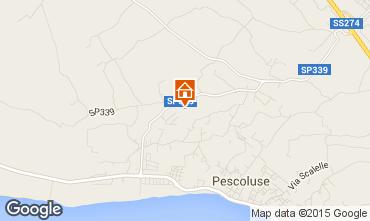 Karte Pescoluse Villa 94326