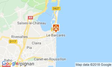 Karte Le Barcares Haus 112837