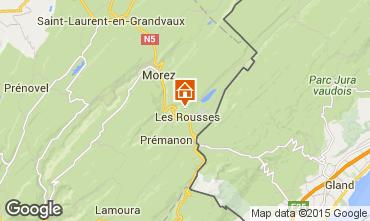 Karte Les Rousses Appartement 3777