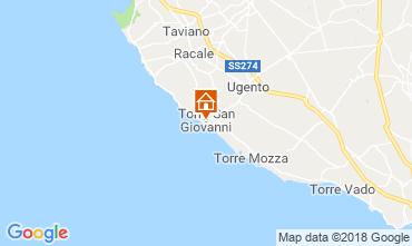 Karte Ugento - Torre San Giovanni Appartement 116277