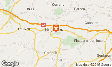 Karte Brignoles Appartement 83625