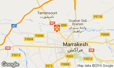 Karte Marrakesch Appartement 89155