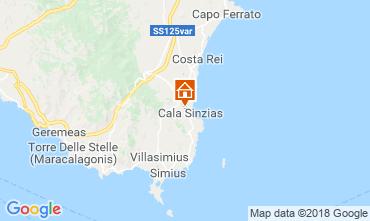 Karte Villasimius Haus 116316