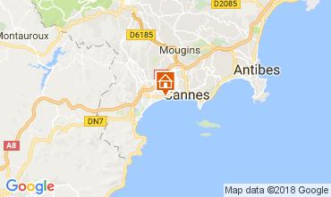 Karte Cannes Appartement 68698