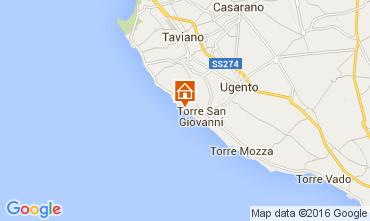 Karte Ugento - Torre San Giovanni Studio 105887