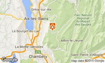 Karte La Féclaz Appartement 26741