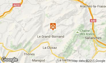 Karte Le Grand Bornand Chalet 101638