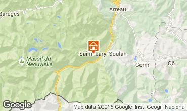 Karte Saint Lary Soulan Studio 14766