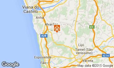 Karte Barcelos Ferienunterkunft auf dem Land 49359
