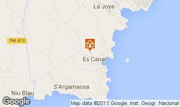 Karte Santa Eulalia del R�o Bungalow 63364