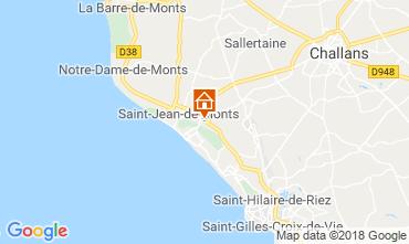 Karte Saint Jean de Monts Mobil-Home 117410