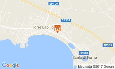 Karte Porto Cesareo Appartement 108117