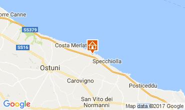 Karte Ostuni Villa 101654